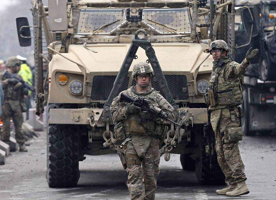 """特朗普不想做""""背锅侠"""",美军逐步撤出阿富汗"""