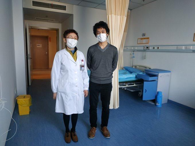 日本導演竹內亮親歷的中日抗疫