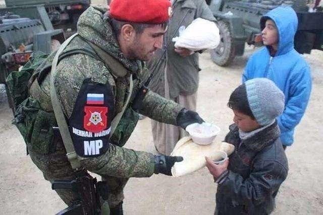 """俄军小红帽,这个叙利亚亲善大使""""管得宽"""""""