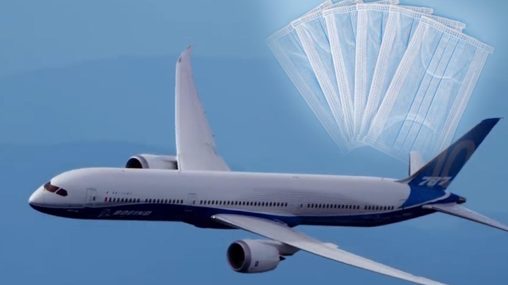 为争夺口罩,世界各国正在中国上演航空秀