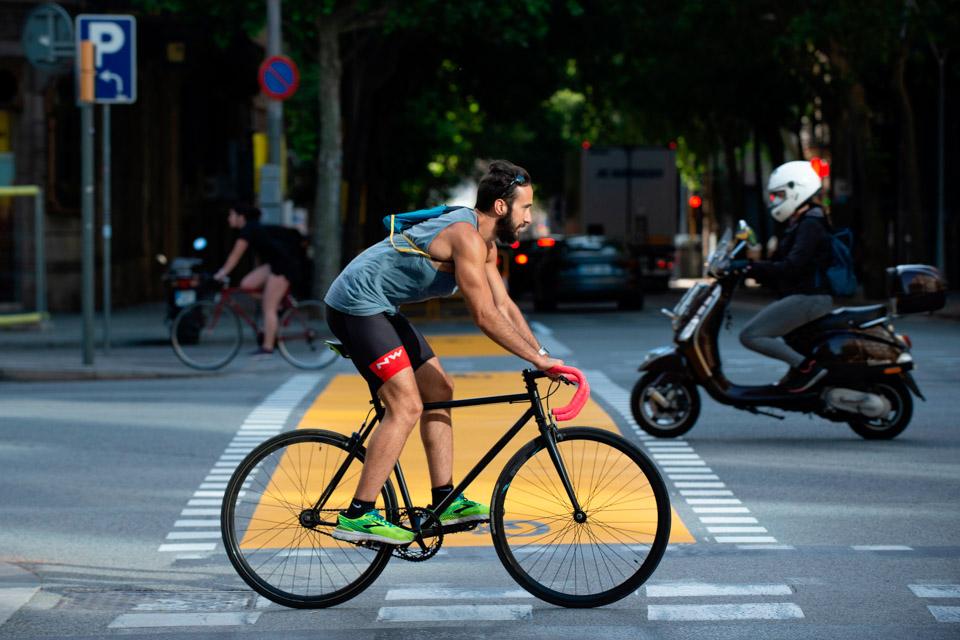 巴塞罗那鼓励骑车出行