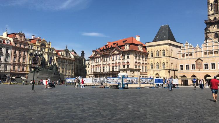 中欧的黑死病纪念柱