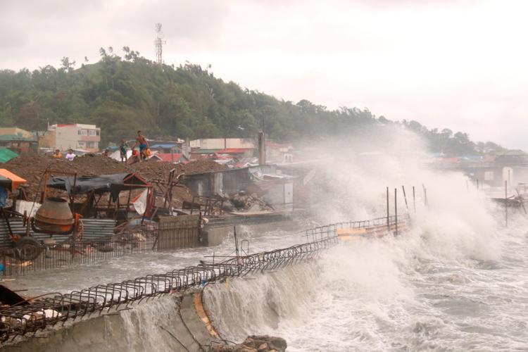 2020年首个台风登陆菲律宾