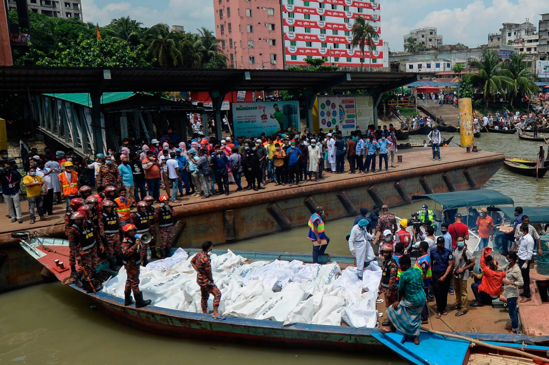 孟加拉國發生沉船事故