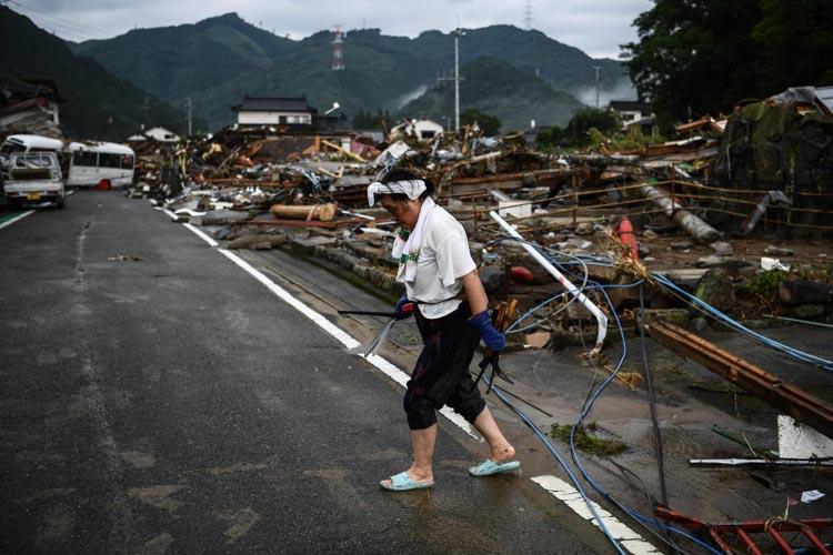 日本九州暴雨致多人死亡