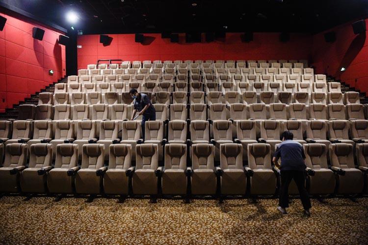 全國各地電影院陸續恢復營業