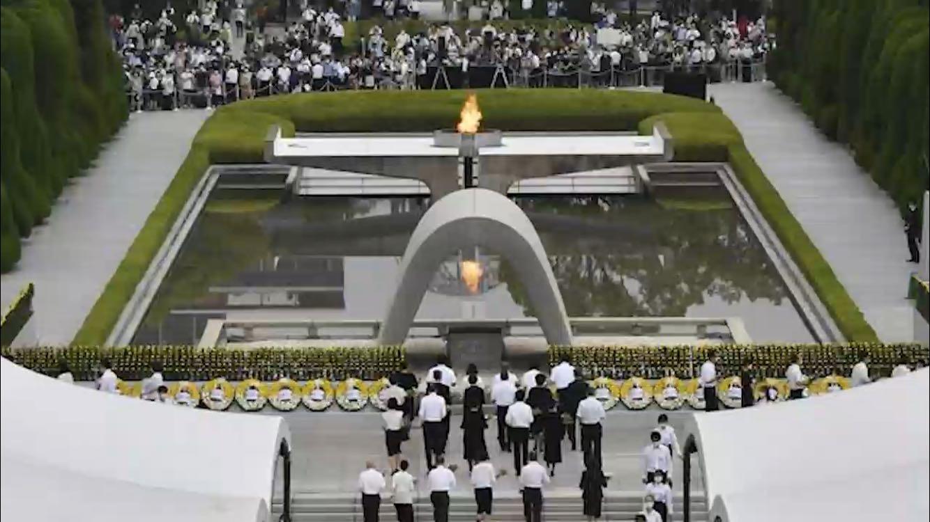 """广岛核爆75周年:  以""""核平""""换和平"""