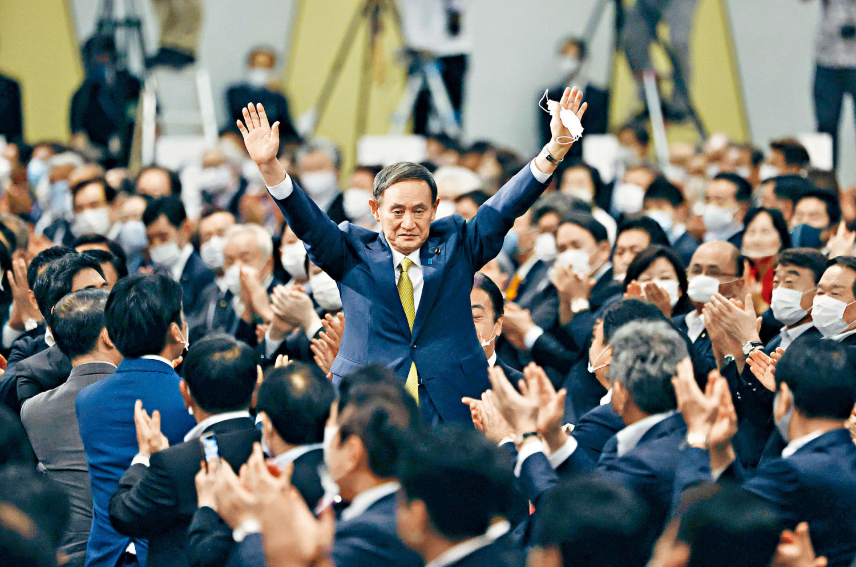 """菅义伟上位:日本首位""""无派阀、无世袭""""首相"""