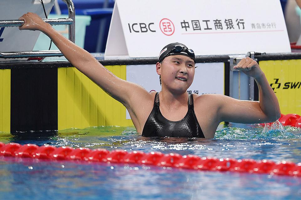 来说说看  体能测试决定游泳运动员赛事成绩合理吗?