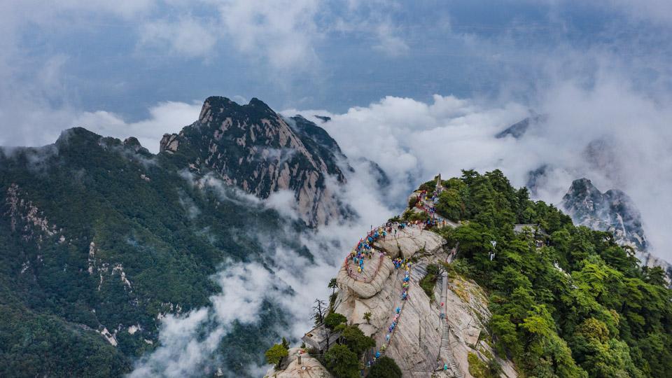 眼睛在旅行丨云霧漫華山