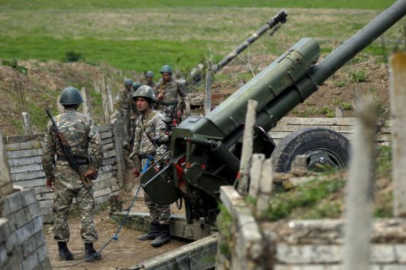 阿塞拜疆和亚美尼亚停火协议生效后冲突再起