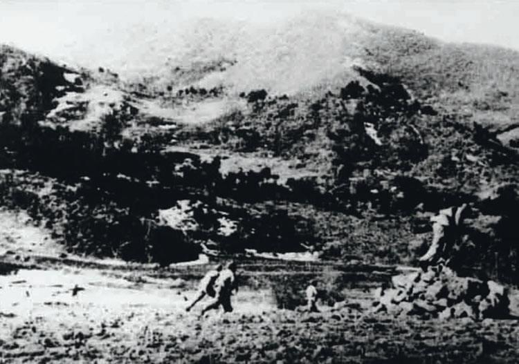 云山之戰。圖片來源:中國軍網