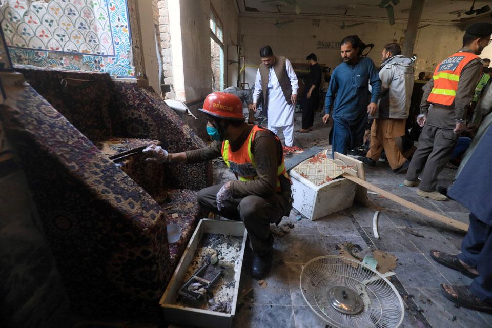 巴基斯坦宗教學校遇襲