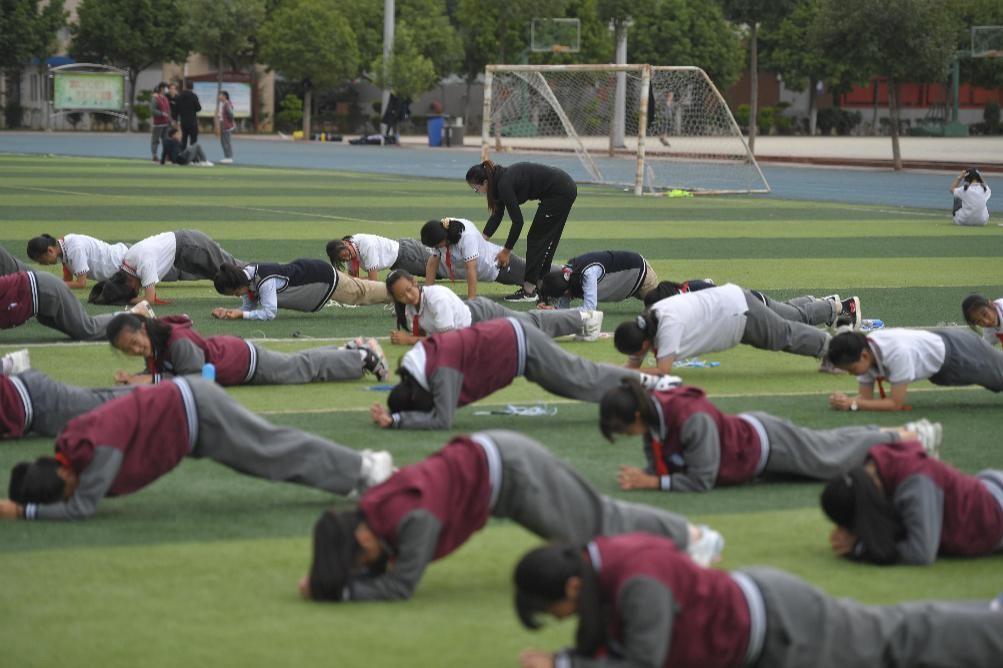 教育部:多數省份體育中考分值明年將增加