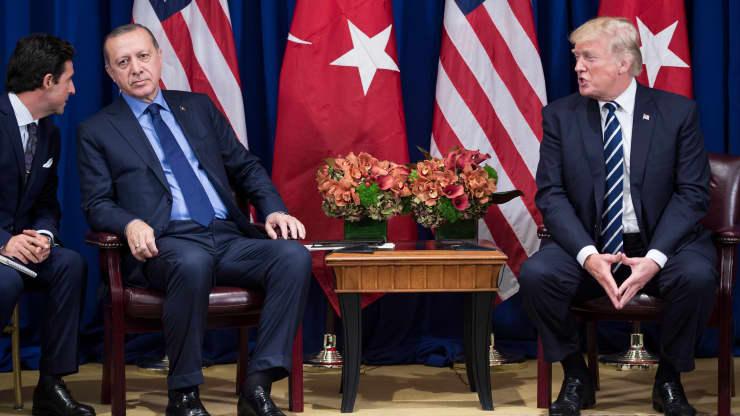 美歐制裁土耳其