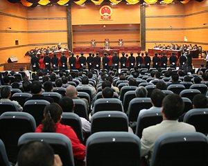 """重慶開庭審理""""涉黑涉惡""""系列案件_幻燈"""