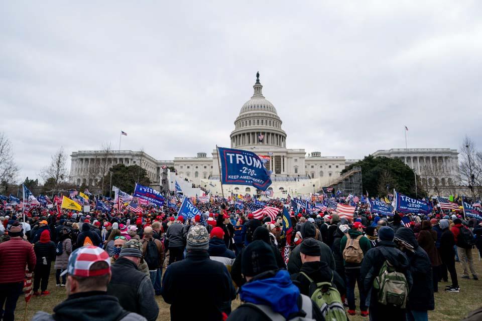 瞬間一周丨特朗普支持者沖擊美國國會