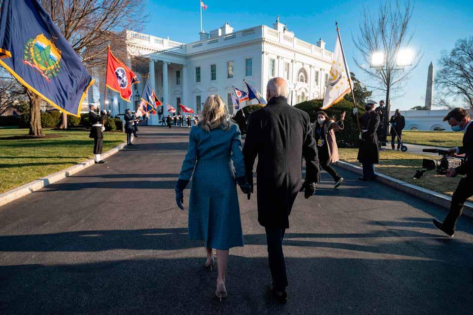 瞬间一周丨拜登接任美国总统