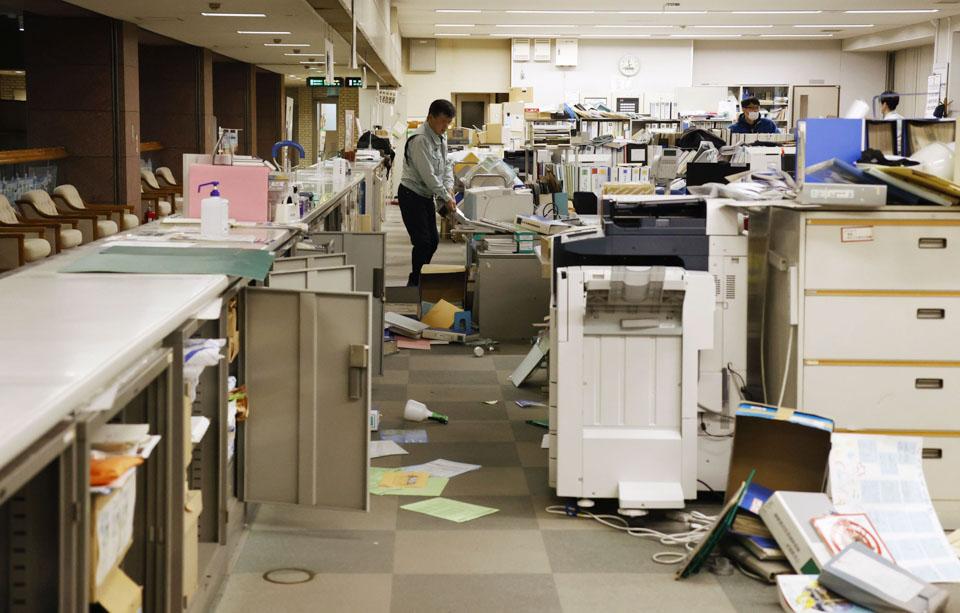 """日本福島突發7.3級地震,核電站""""無異常"""",為十年前3·11地震余震"""