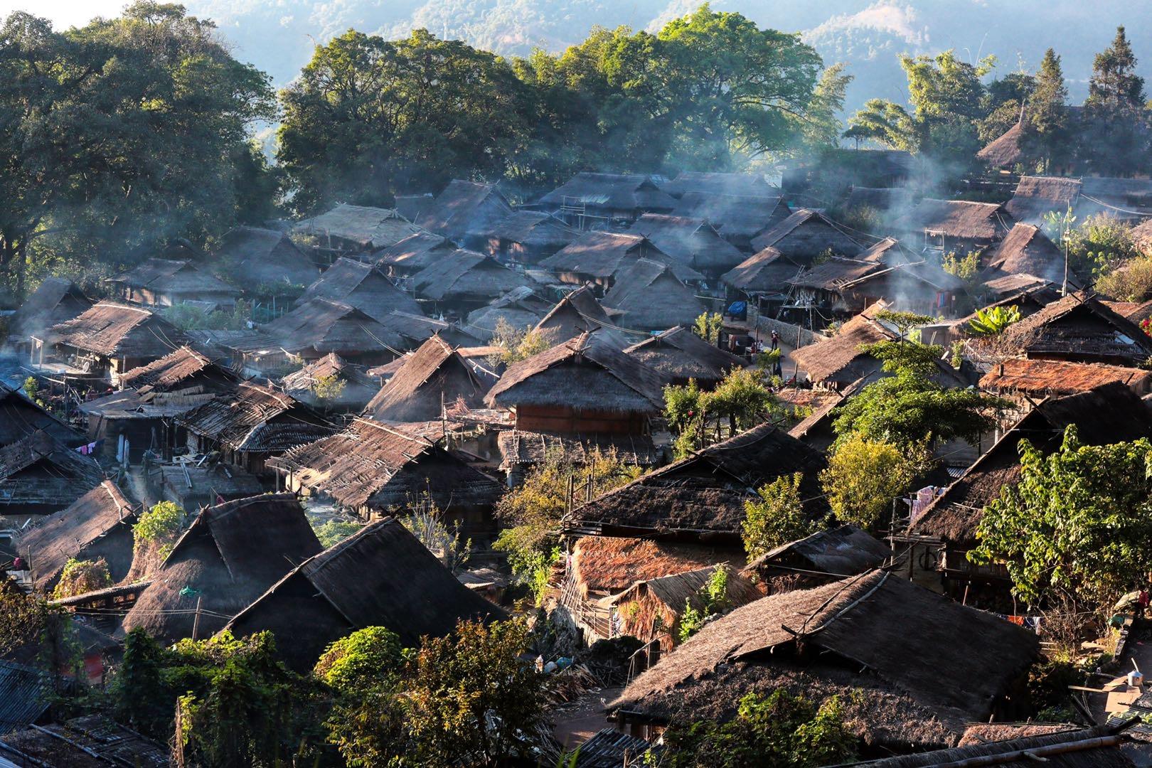 佤寨翁丁化為灰燼之余:生活世界與建筑物是互相依存的關系