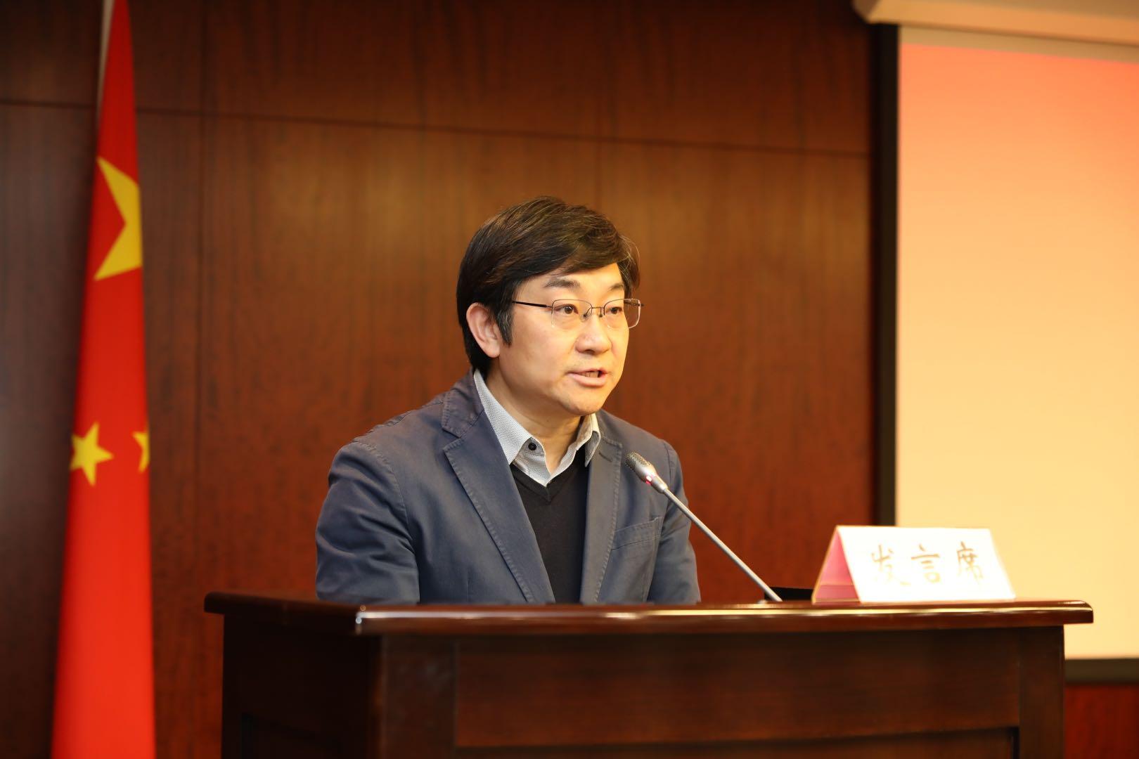 上海市教委基礎教育處處長楊振峰。圖片來源:受訪者提供。