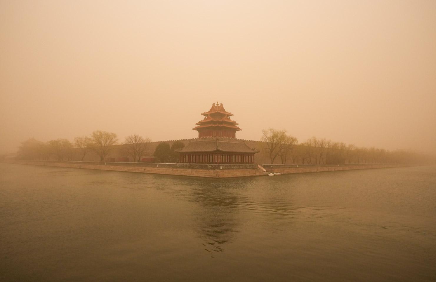 瞬間一周丨北京遇沙塵天氣