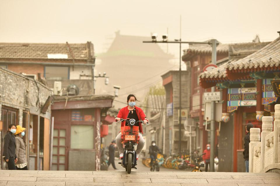 177個城市受到兩次強沙塵影響,致空氣質量超標702天