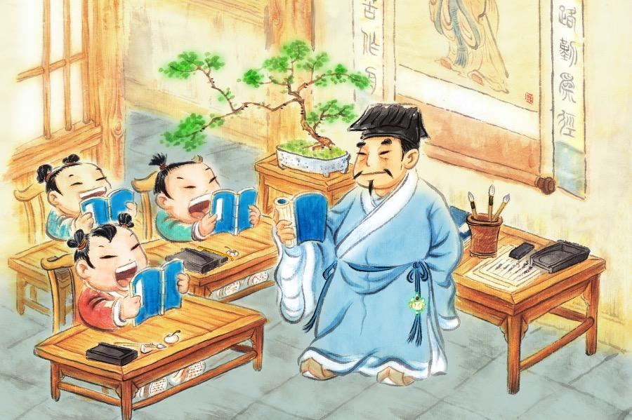 《东汉大盛的补习班, 为何消失于魏晋门阀时代?》(图文无关)这里谈谈古代的补习班吧。