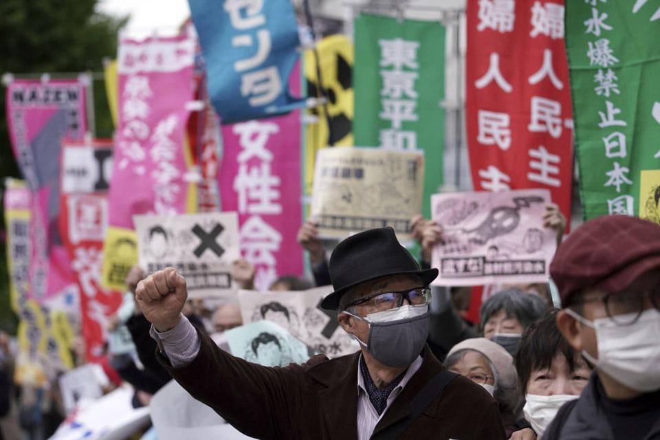瞬間一周丨日本執意排核污水入海