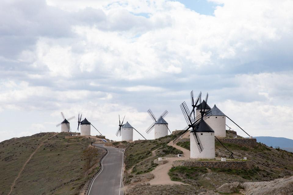 西班牙的风车小镇