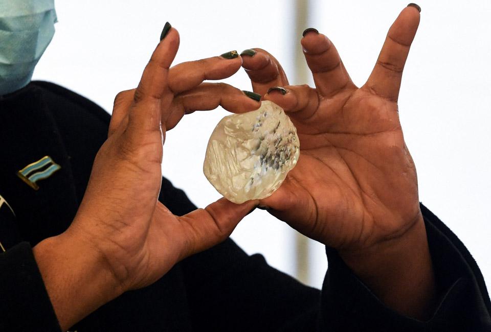 博茨瓦納開采出1098克拉鉆石