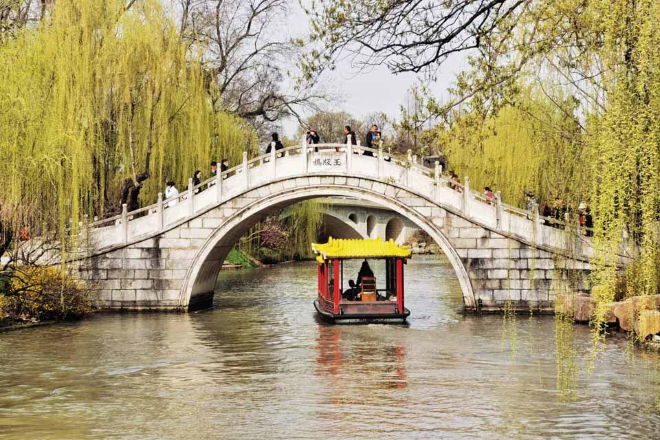 南北作界:沿著大運河穿過揚州