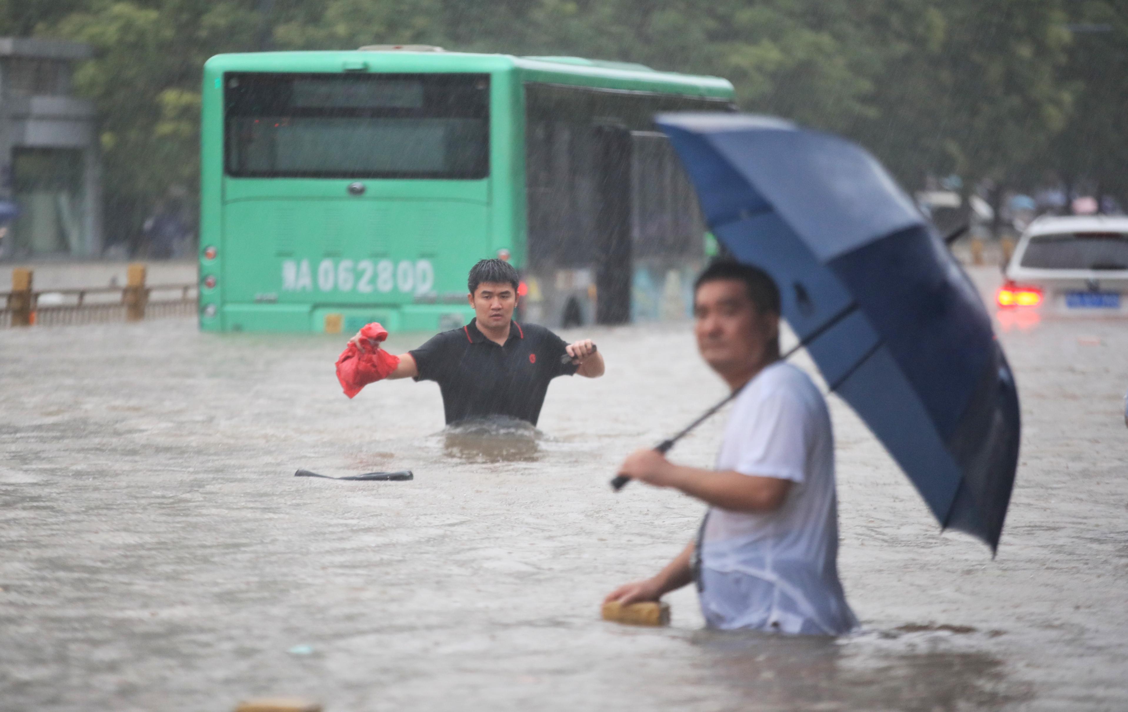 关注|暴雨侵袭河南