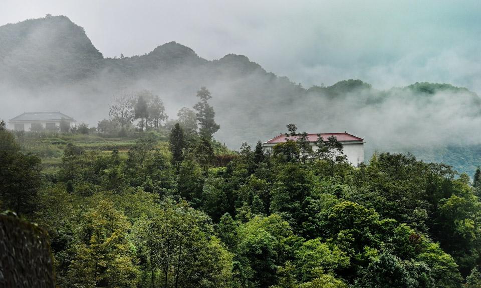 雾隐龙头山