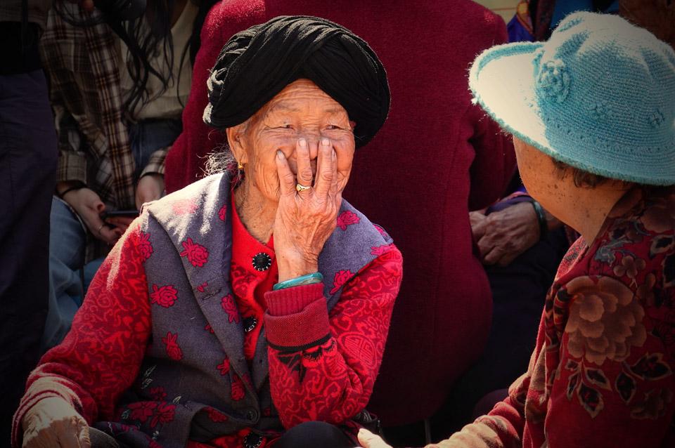 彝村迤沙拉,村民自称祖先来自南京